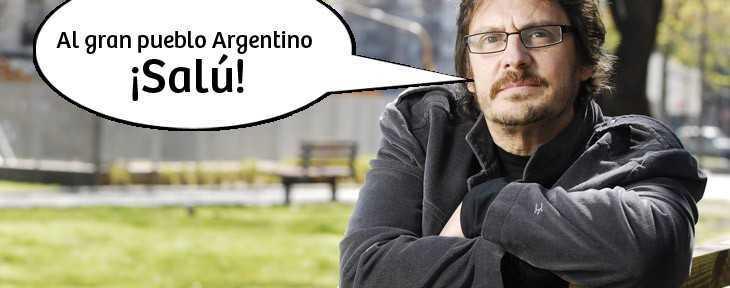 """nuevo libro felipe pigna: """"al gran pueblo argentino salud"""""""