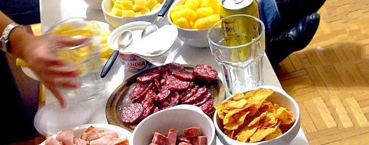 qué comer y qué beber durante el Mundial Brasil