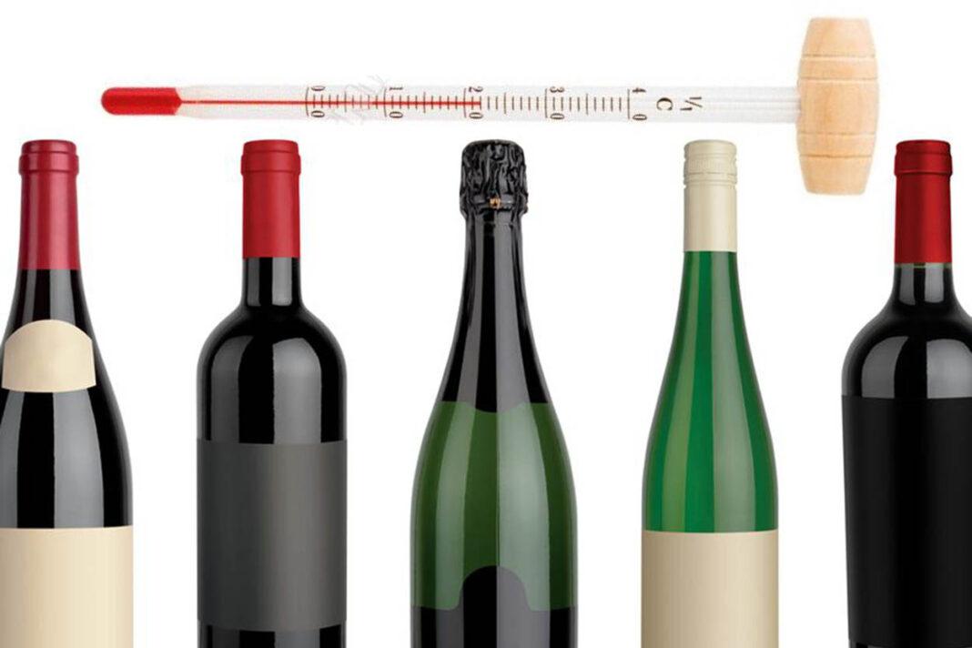 A qué temperatura se bebe el vino