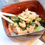 Wok rápido de pescado para darse un gusto con vinos frescos