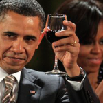 Los Obama fascinados con el Malbec y los vinos biodinámicos