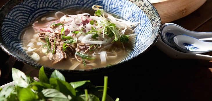 Sunae Asian Cantina: platos asiáticos con corazón argento