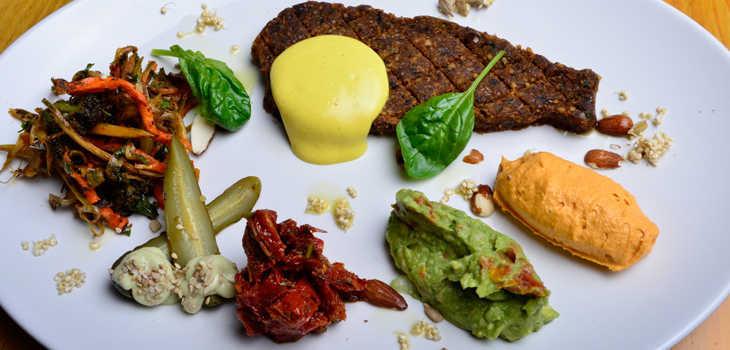 salchichas bifes vegetarianos, probalos nuevo buenos aires verde