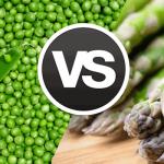 Espárragos vs arvejas: dos platos fáciles para vegetales de temporada