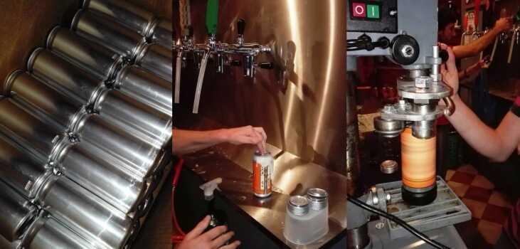 growler, crowler otras formas nuevas tomar cerveza artesanal