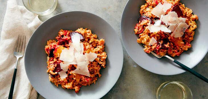 ¿Con qué vino se acompaña el risotto?