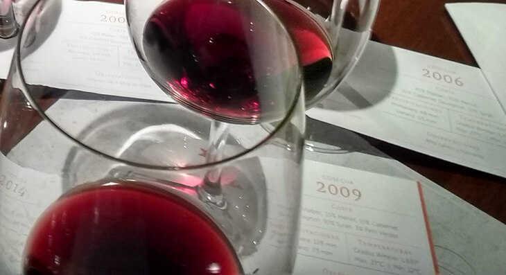 vinos jóvenes, reserva y gran reserva