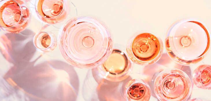 estilos de vinos rosados