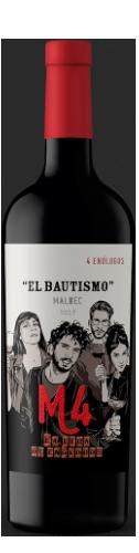 La Liga de Enólogos El Bautismo M4 Malbec/5366 1