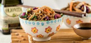 Prepará un wok de arroz jazmín con verduras y huevos tipo tamago 1