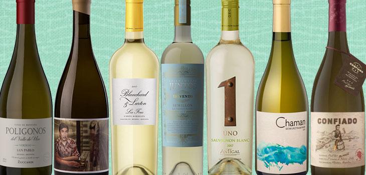 vinos blancos modernos