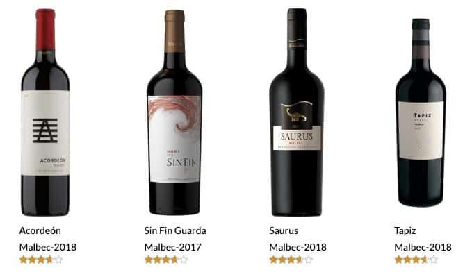 vinos buenos y baratos 2019