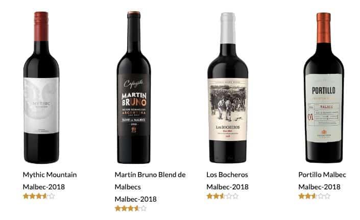 vinos malbec buenos y baratos 2019