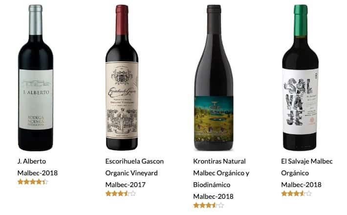 vino organico malbec