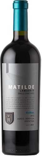 Matilde Lamadrid Single Vineyard Lamadrid Wines Malbec 2013 1