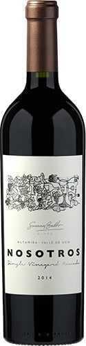 Nosotros Single Vineyard Paraje Altamira Nómade Susana Balbo Wines Malbec 2014 1