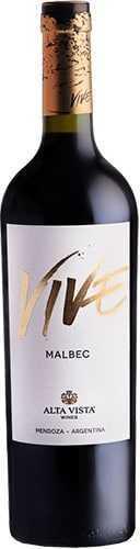 Vivé Alta Vista Wines Malbec 2017 1