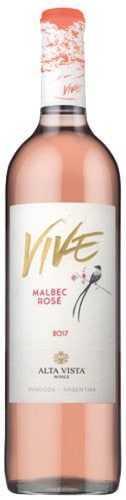 Vivé Malbec Rosé Alta Vista Wines 2018 1