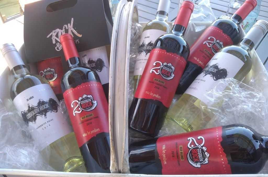 Viña Las Perdices lanza dos nuevos vinos para los 20 años del Cosquín Rock 1