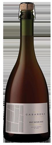 Casarena Single Vineyard Brut Nature Rosé Pinot Noir 1