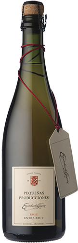 Pequeñas Producciones Rosé Extra Brut Pinot Noir 1