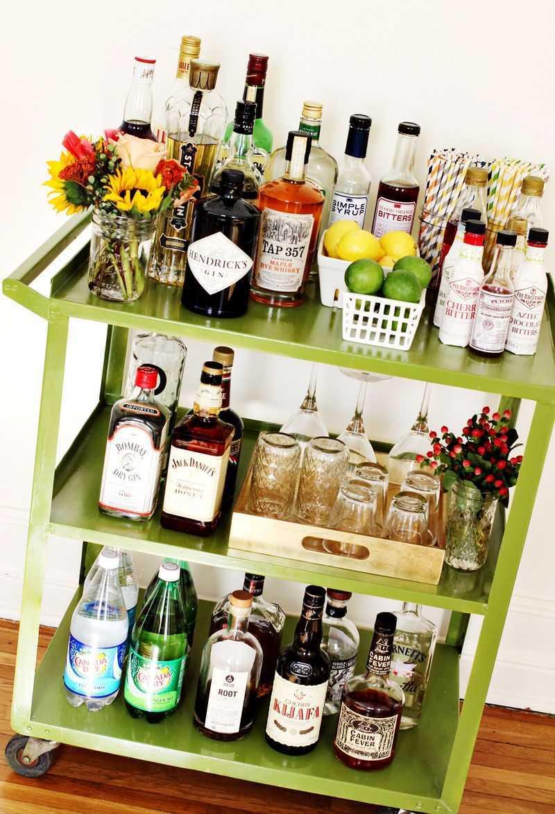 Elsie`s restyled cocktail cart