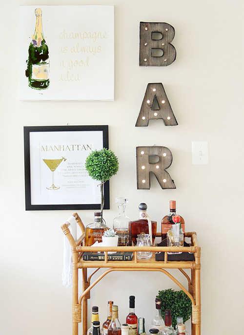 Bar en casa: date un gusto 1