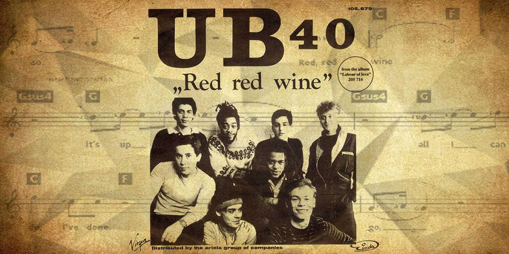 Red red wine: la curiosa historia del hit que fue botella de vino con los años 1