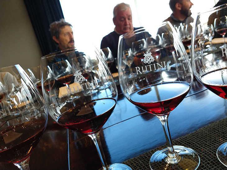 Pinot Noir de Argentina, en una cata en bodega Rutini