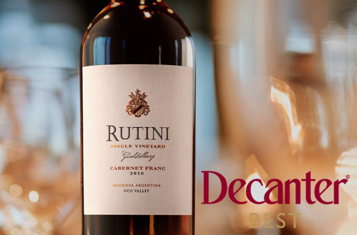 Rutini Single Vineyard Cabernet Franc