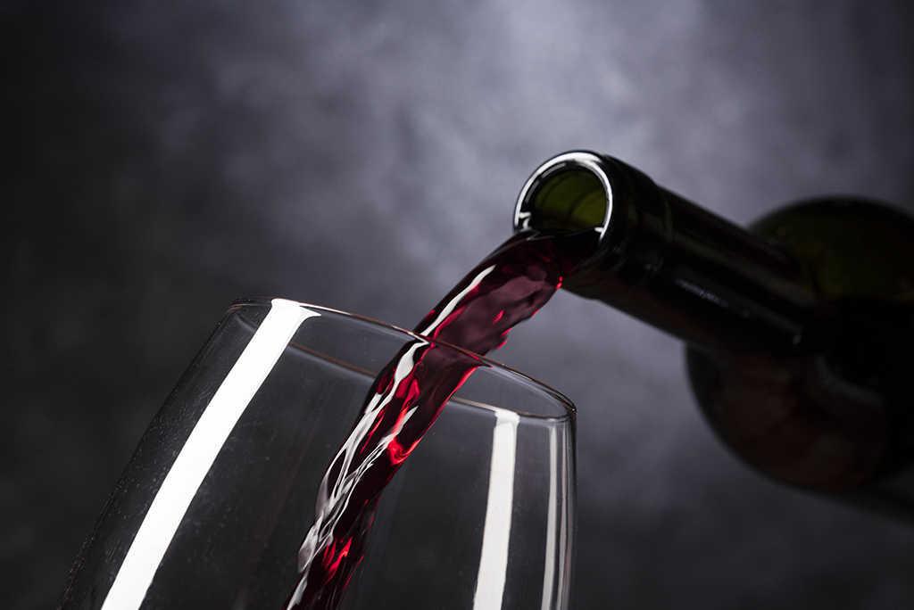 Cuerpo en el vino