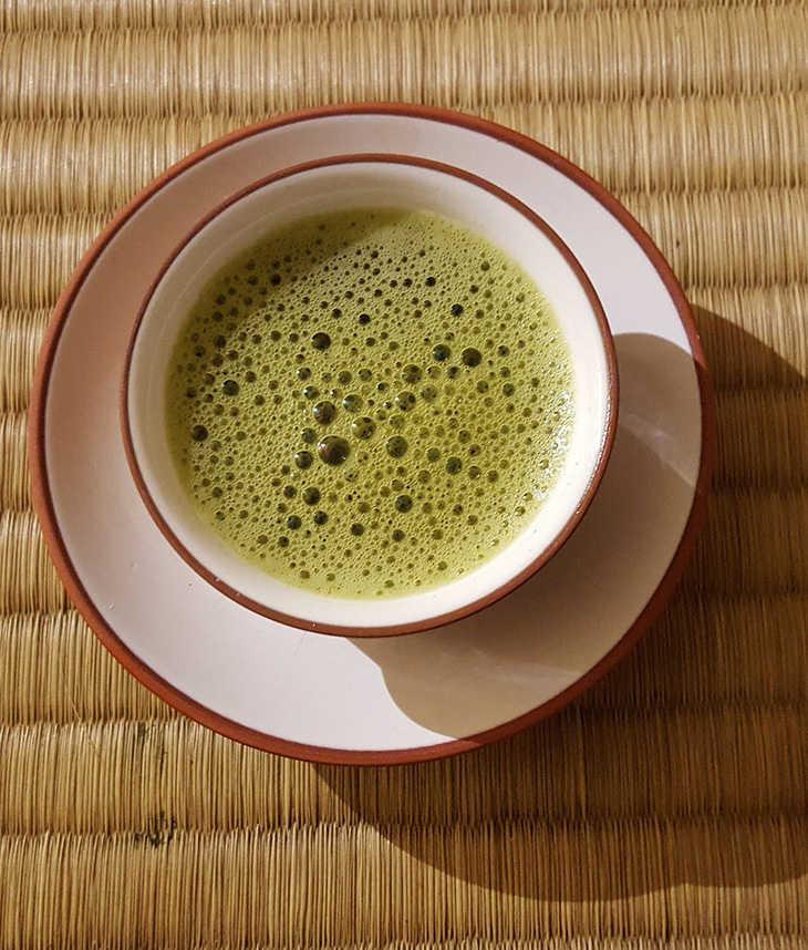 matcha y otros tipos de té