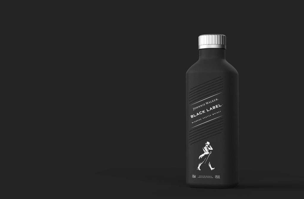 Johnnie Walker lanza la primera botella de papel para bebidas alcohólicas