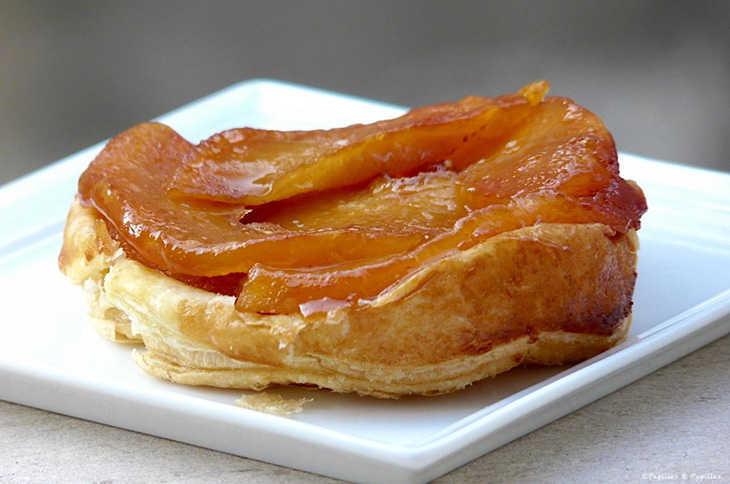 tarta tatin o torta invertida de manzana