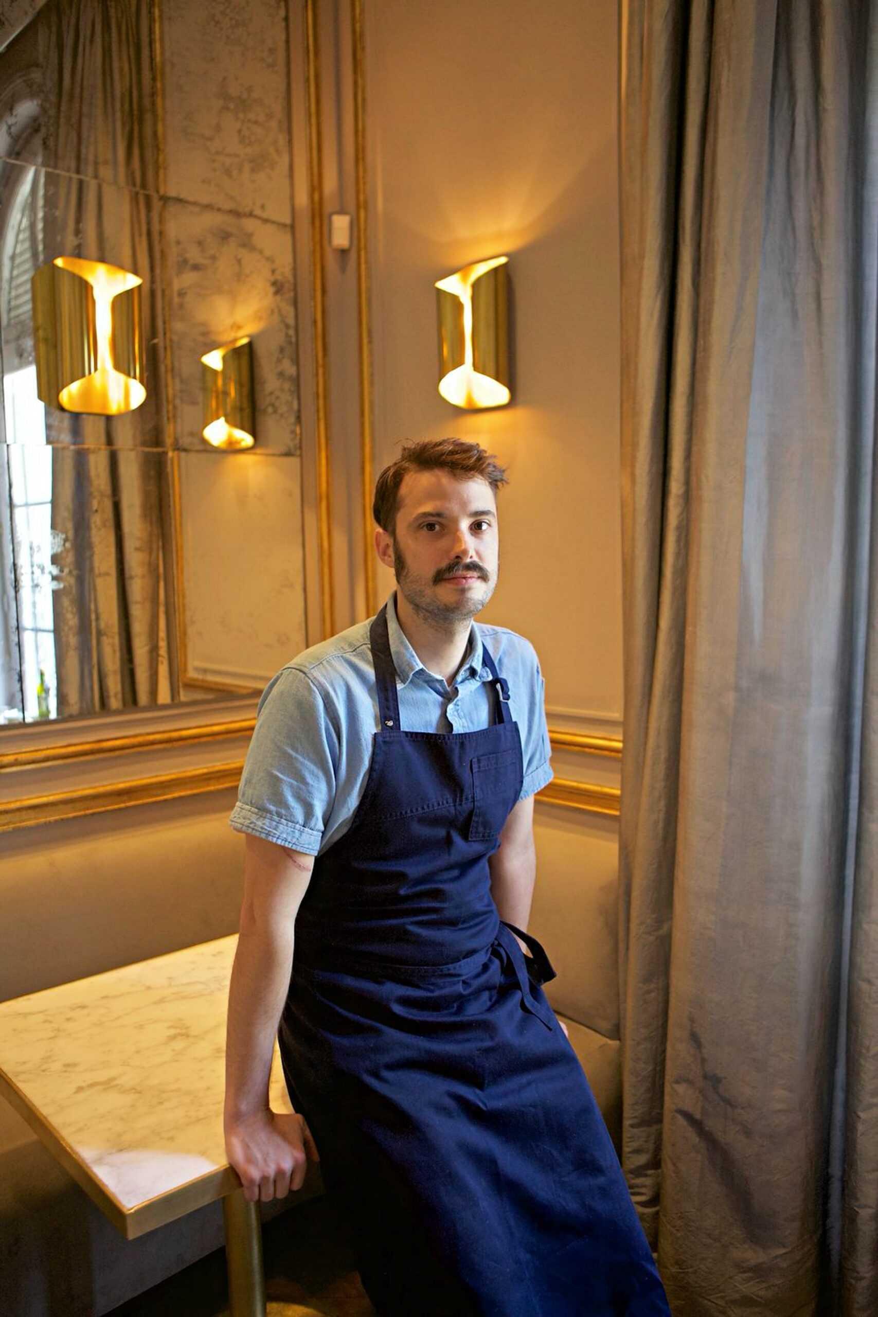 Juan Orsini entre los jóvenes cocineros argentinos