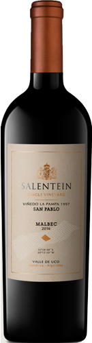 Salentein Single Vineyard La Pampa 1997 Malbec 2017