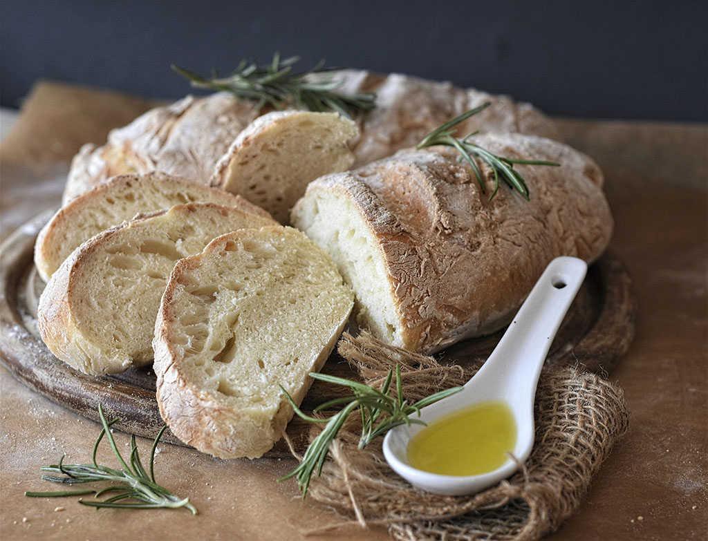 Pan y oliva