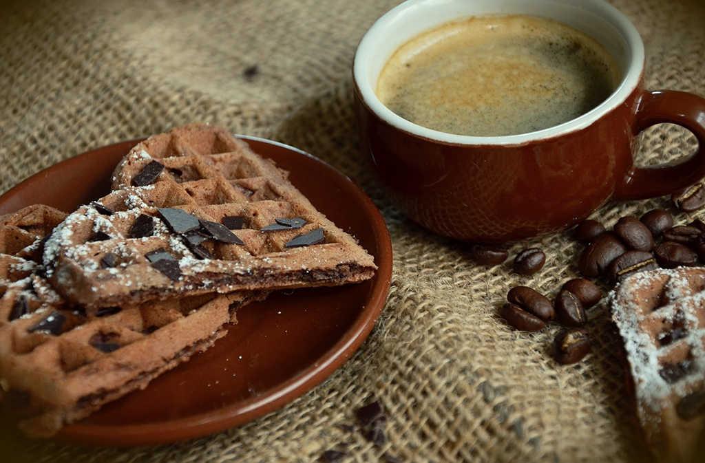 receta de waffles salados