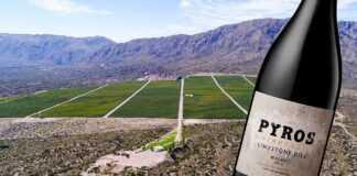 Pyros Vineyard Limestone Hill Malbec