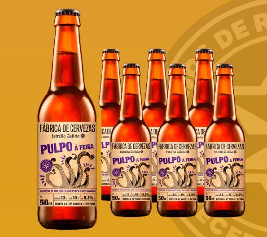 Cerveza de pulpo