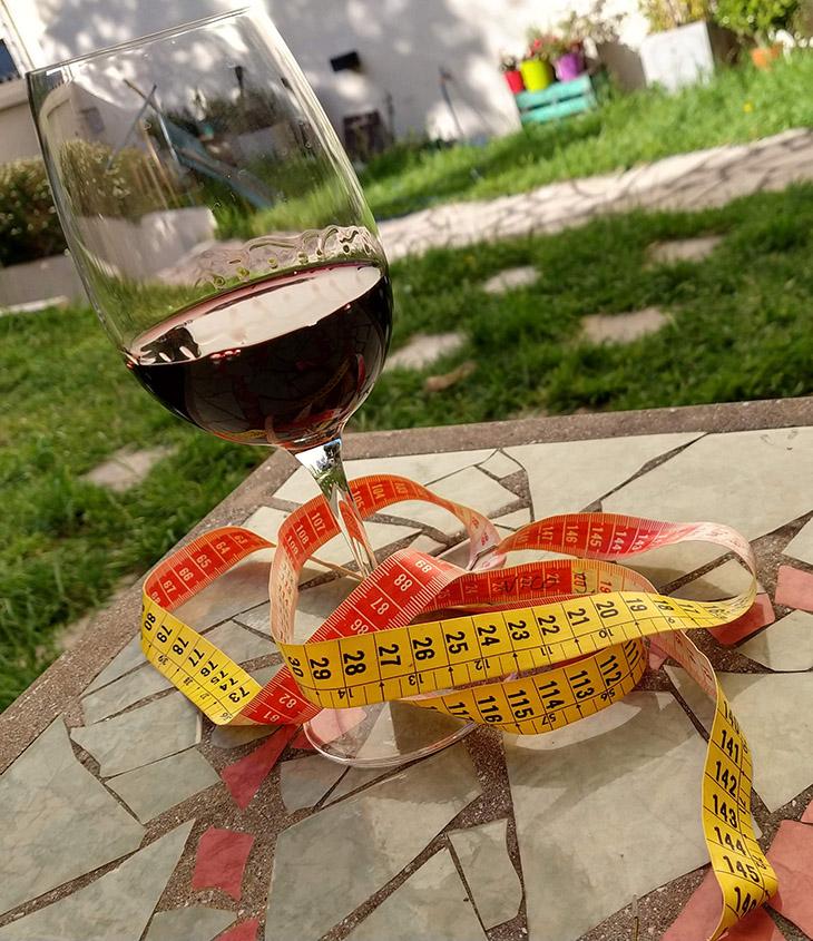 calorias en el vino