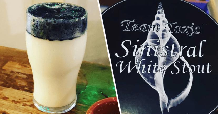 Cerveza y vicerveza: conozcan a Sinistral, la guinness blanca con espuma negra (!) 1