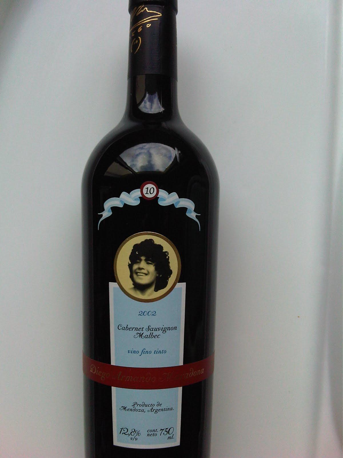 vino de Maradona