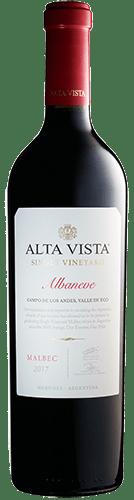 Alta Vista Singel Vineyard Albaneve Malbec 2017 1