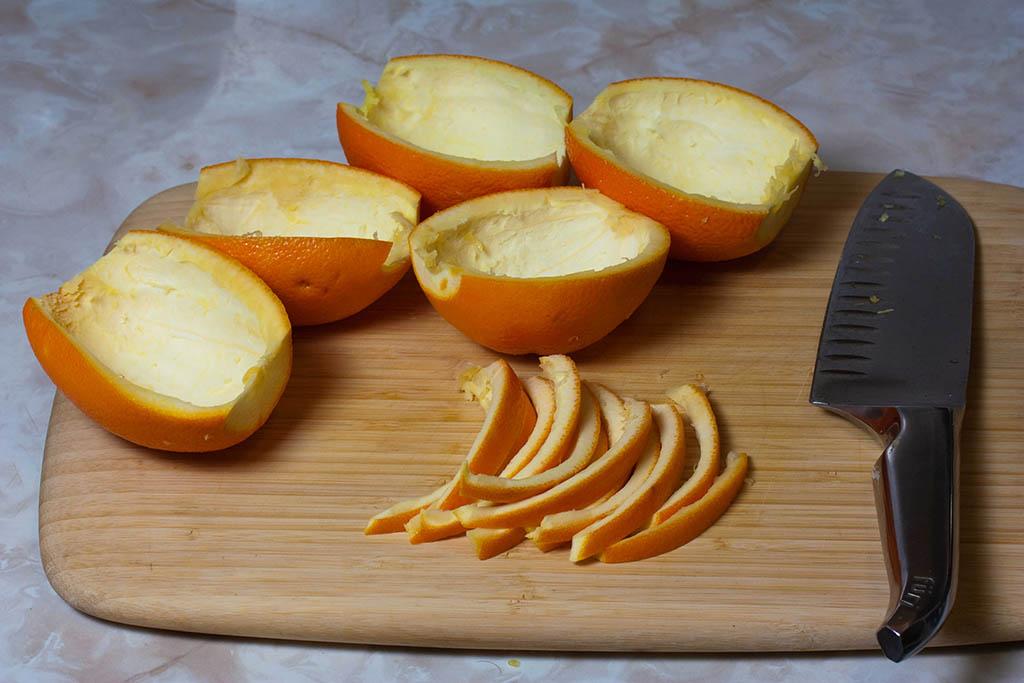 receta de fruta abrillantada