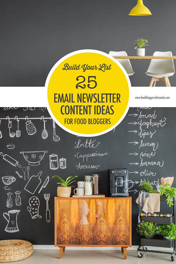 newsletter de gastronomía
