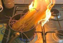 equivocaciones en la cocina