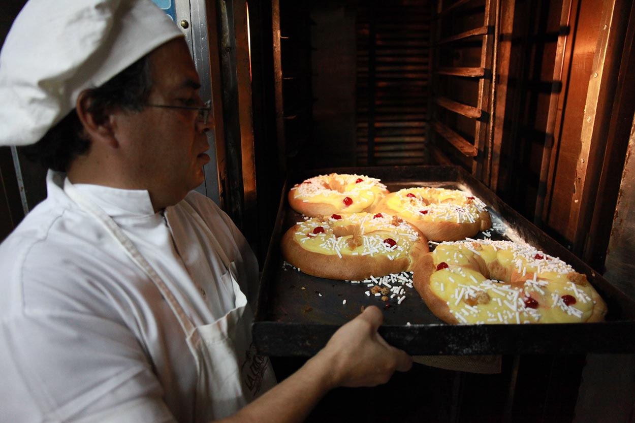cómo hacer rosca de pascua