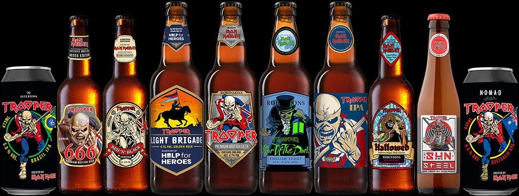 cervezas de bandas de rock