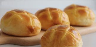 receta de pan de papa